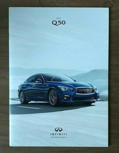 2017 INFINITI Q50 sales brochure catalog 17 US 2.0t 3.0t Red Sport 400 HYBRID