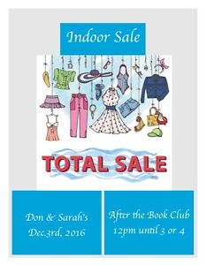 Join us for an indoor sale  Edmonton Edmonton Area image 1