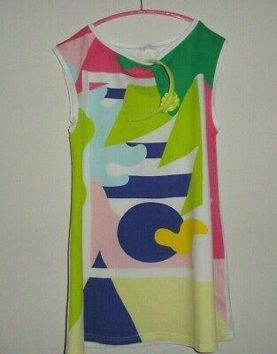 Fun&Fun of Italy Knit Cotton Tunic Dress Plus Il Gufo Headband Size 13 - 14 Y