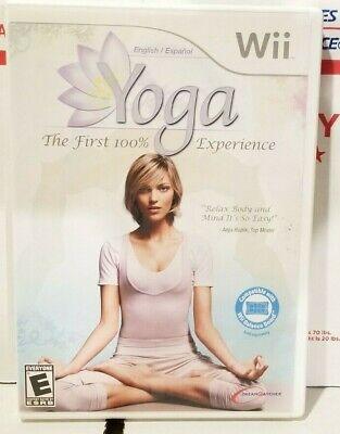 Yoga (Nintendo Wii, 2009) Complete CIB