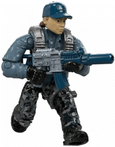 MINIFIGURE #4 Call of Duty Mega Flamethrower Shock Troops Legends WW2 FDY75