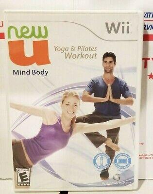 Nintendo Wii New U Mind Body Yoga & Pilates Workout Complete!