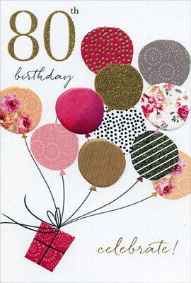 80th Birthday Balloons (Pictura Balloons Lifting Gift Sara Miller 80th Birthday)