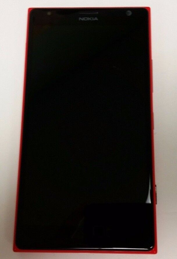nokia lumia 1520 16gb red att smartphone clean imei esn