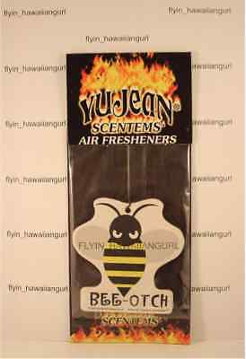 BEE OTCH BEEOTCH BUMBLEBEE MOVIE TRANSFORMERS AUTOBOT VW CAMARO AIR FRESHENER