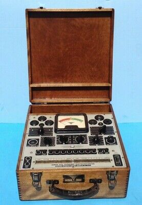 Precision Apparatus Co. Series 912 Electronometer Tube Tester Working