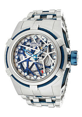 Invicta Reserve Bolt Zeus 12946 Men's Swiss Made Automatic GMT Watch $4995 NEW