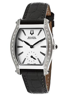 Label New Bulova Accutron 63R004 Women's Swiss Saleya Diamond Watch
