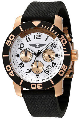 I by Invicta Watch 41701-002 Men's Chronograph Black Rubber on Rummage