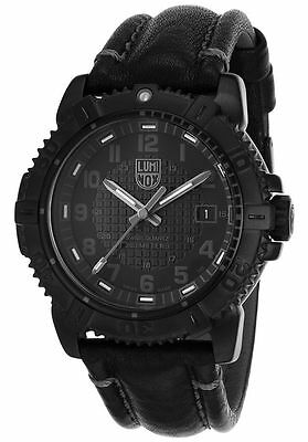 Luminox 6251.BO Men's Modern Mariner Black Genuine Leather Black Dial