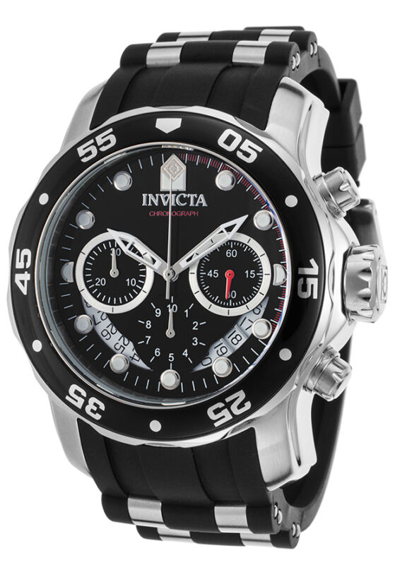 Invicta Men's 21927 Pro Diver Quartz Multifunction Black Dial Watch
