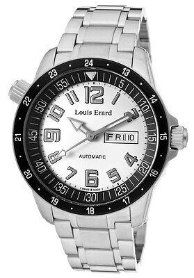 Louis Erard La Sportive 72430AS01 Swiss Made Men's Automatic Watch $2500 NEW NIB