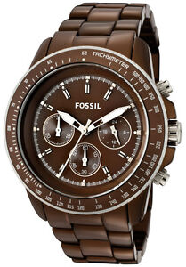 Fossil-Watch-CH2746-Womens-Stella-Brown-Dial