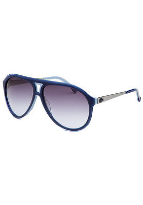 Authentic Lacoste Men's Aviator Sunglasses - Blue - L694S -59