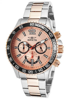 Invicta Men's 15615 Specialty Chronograph Two-Tone Rose Stainless Steel Watch