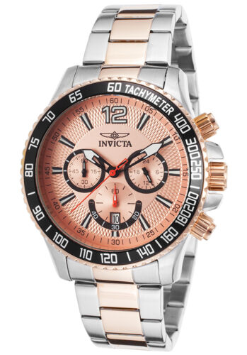 $54.99 - Invicta Men's 15615 Specialty Chronograph Two-Tone Rose Stainless Steel Watch