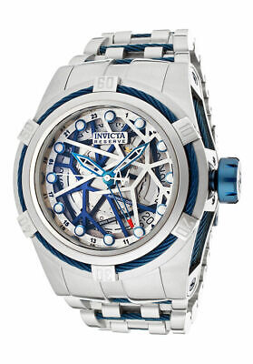 Invicta Bolt Zeus 12946 Men's Swiss Made Automatic GMT Watch $4995 RARE NEW