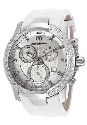 - TechnoMarine 610004 Yachting Leather Alligator Strap Diamond Women's Watch $6900