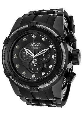 New Mens Invicta 14940 Reserve Bolt Zeus Swiss Chronograph Polyurethane Watch