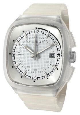 Adidas Toronto White Dial White Rubber Strap Men's Watch ADH2115