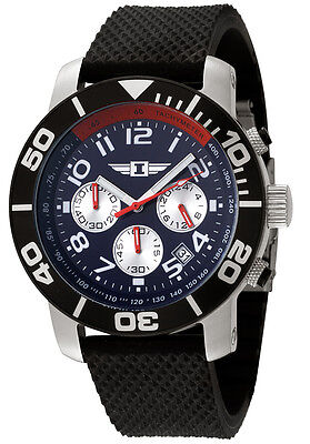 I By Invicta Men's 41701-003 Chronograph Stainless Steel Black Watch