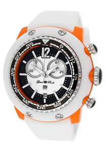 Glam Rock Watch GD1117-DMC Women's Miami Beach Chrono White/Black Dial