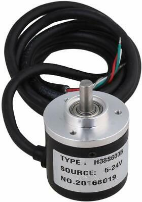 600pr Incremental Rotary Encoder Dc5-24v Wide Voltage Power Supply 6mm Shaft