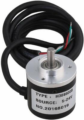 600pr Incremental Rotary Encoder Dc5-24v Wide Voltage Power Supply 6mm Shaft