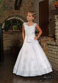 First Communion / white party dress
