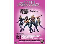 Steel Panther standing ticket. Manchester 18.10.2016