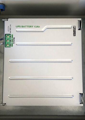 Phoenix Contact UPS-BAT/VRLA/24DC/12AH  Order-No.: 2320322 Output 24V/12Ah/50A