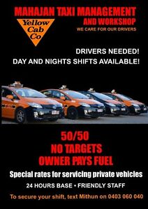Taxi Drivers Wanted - Student or Professional Brisbane City Brisbane North West Preview