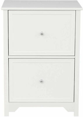 Oxford White 28.5 In. File 2-Drawer Cabinet for Home and Office Folders Storage Oxford File Cabinets