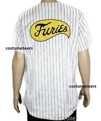 FURIES Baseball JERSEY Shirt Movie uniform The Warriors Costume - Warriors Movie Costume