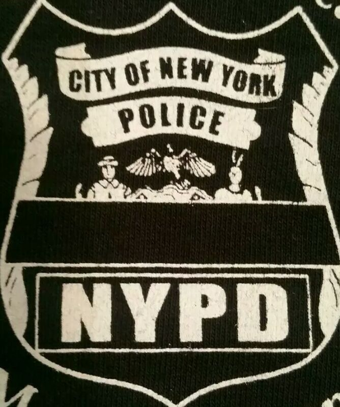 NYPD New York City Police Department NYC T-Shirt Sz L NEW