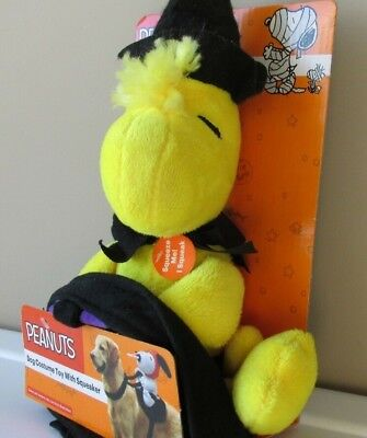 Woodstock Halloween Costume (Snoopy Christmas Peanuts Plush Woodstock Halloween Dog Costume Plush)