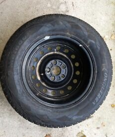 FREE - RAV4 Tyre and Steel Wheel Spare. Never Used. 215/70/R16