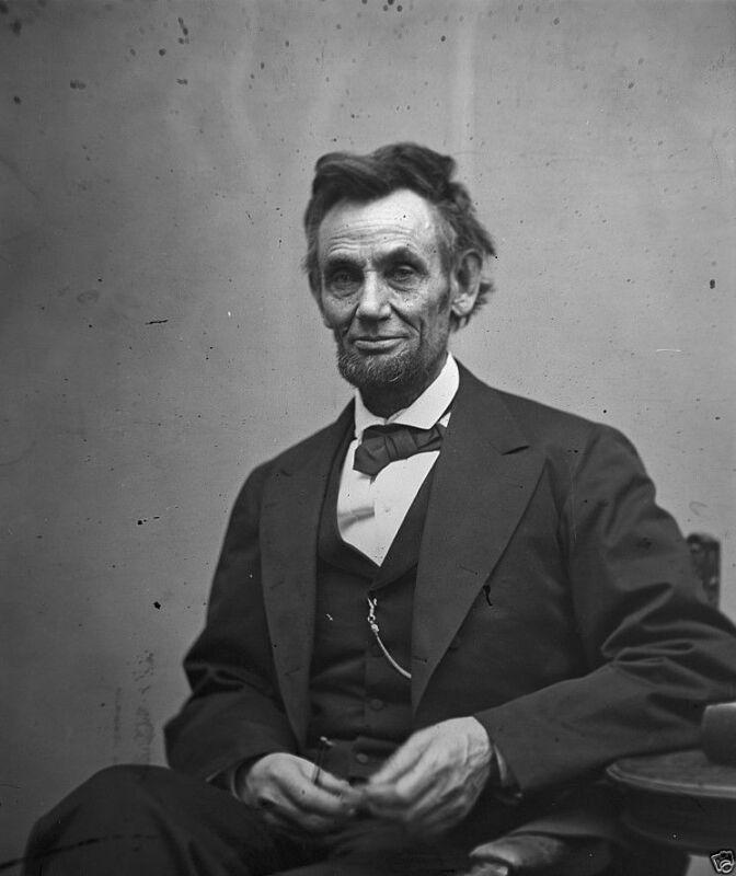 President Abraham Lincoln Last Portrait February 1865 8x10 US Civil War Photo