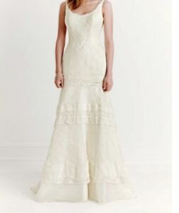 New Melissa Sweet ivory wedding dress size 8