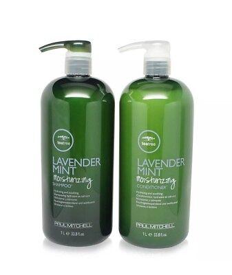 Paul Mitchell Tea Tree Lavender Mint Shampoo and Conditioner 33.8oz 1 L