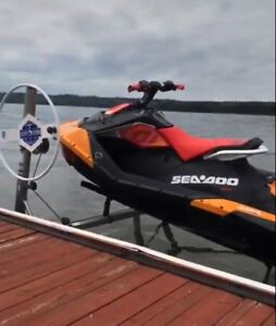 Mint condition 2018 seadoo Trixx only 24 hours