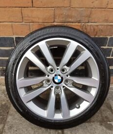 "New 17"" BMW Sport Alloy Wheels with New Tyres"