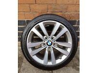 "NEW 17"" Sport BMW Alloy Wheel & Tyre (2015-2018)"