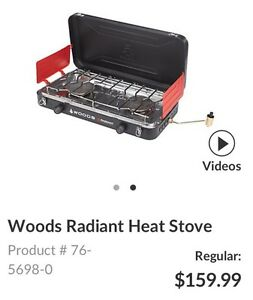 Woods Camping Stove Brand New Great Price