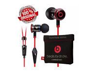 Genuine Monster Beats by Dr Dre iBeats In-Ear Headphones from Monster - Black/White