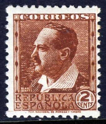 SPAIN 1932 2c. Blasco Ibanez Without Control Nos. Perf 11½ SG 738A for sale  Shipping to United States