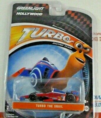 Greenlight Hollywood Turbo Snail Racing Team Indy Car Adrenalode Limited Edition