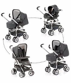 Hauck eagle travel system