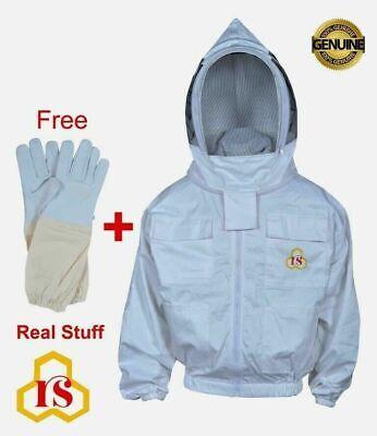 2x Large Beekeeper Best Grade Cotton Jacket Beekeeping Jacket Veil Hat 2xl 2xl