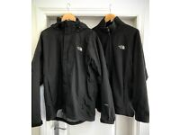 Men's The North Face Waterproof Coat (Black) LARGE